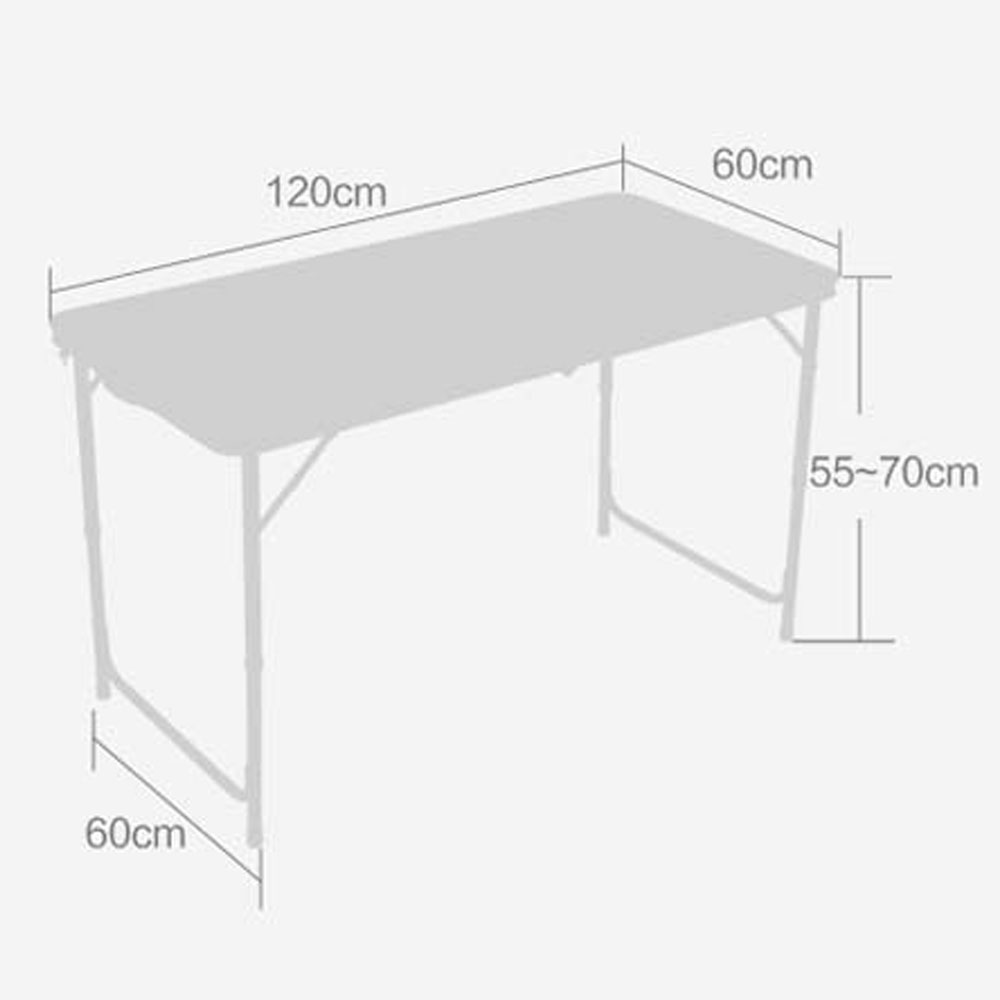 3/'// 4/' 6/' Ft Aluminum Camping Folding Table Portable Office Camping Picnic BBQ