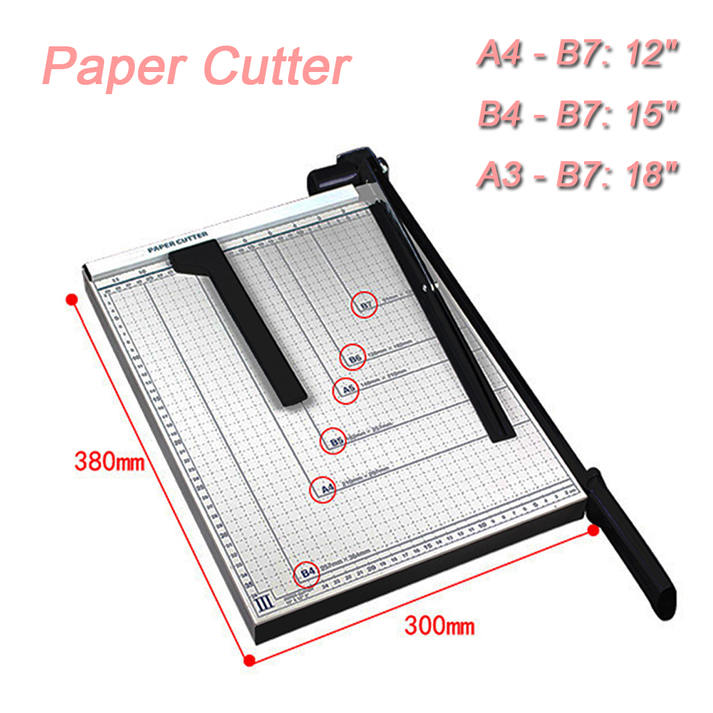 Crafts Art Supplies Responsible A4 Precision Paper Trimmer Punctual Timing