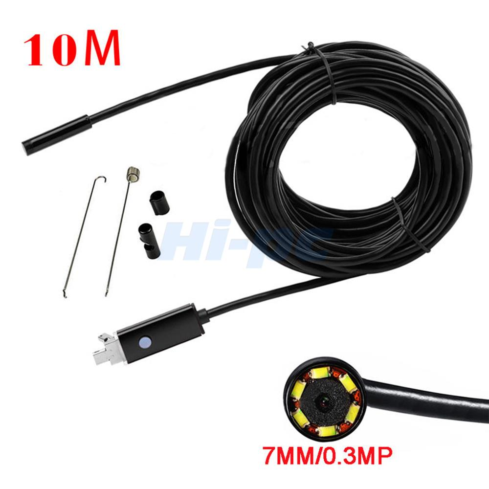 Old Camera On Ebay Smart Led Light Bulbs Leak Wifi Passwords Tv Full Hd 22 Samsung Tv 55 Inch Best Buy: 10M LED Android Endoscope Waterproof Inspection Camera