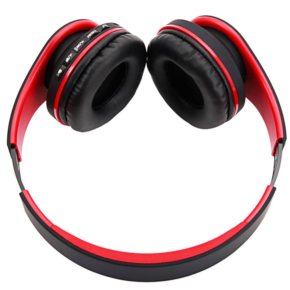 Foldable Wireless Bluetooth Headset Stereo Headphone FM