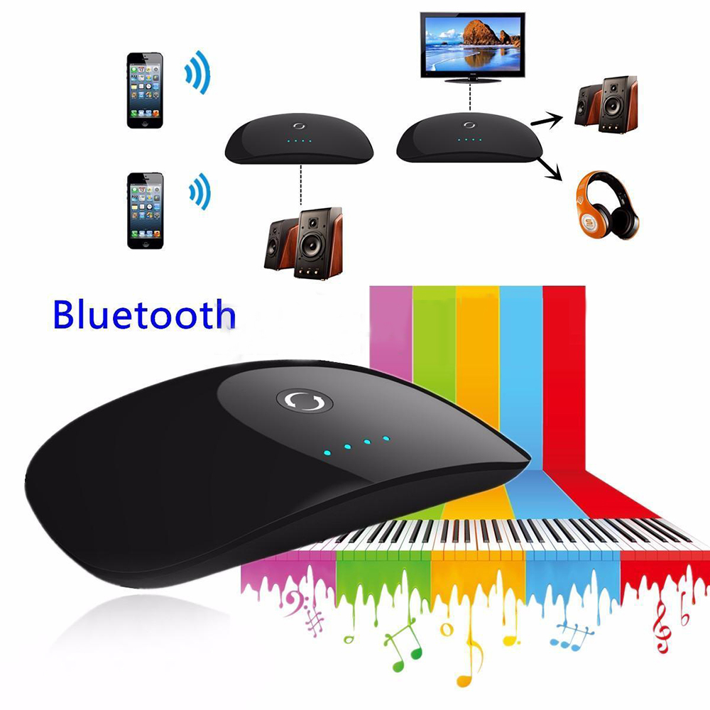 2in1 wireless bluetooth transmitter receiver a2dp home. Black Bedroom Furniture Sets. Home Design Ideas
