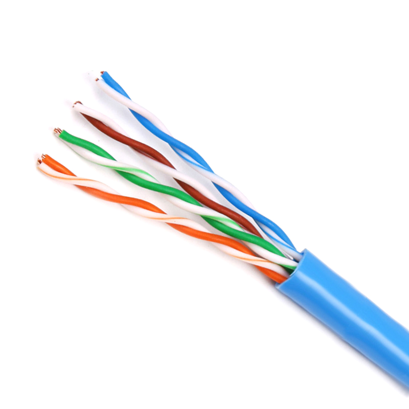 CAT5E CAT6 Cable 1000FT UTP Solid Network Ethernet CAT5 Bulk RJ45 ...