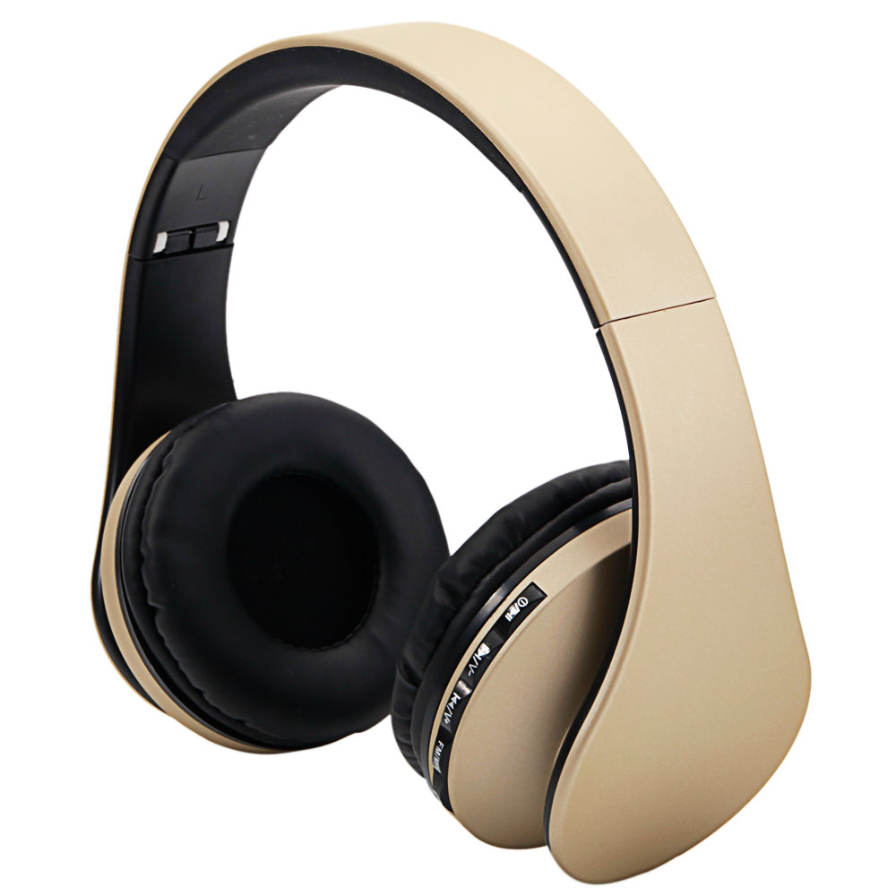 foldable wireless bluetooth stereo bass fm headphones. Black Bedroom Furniture Sets. Home Design Ideas