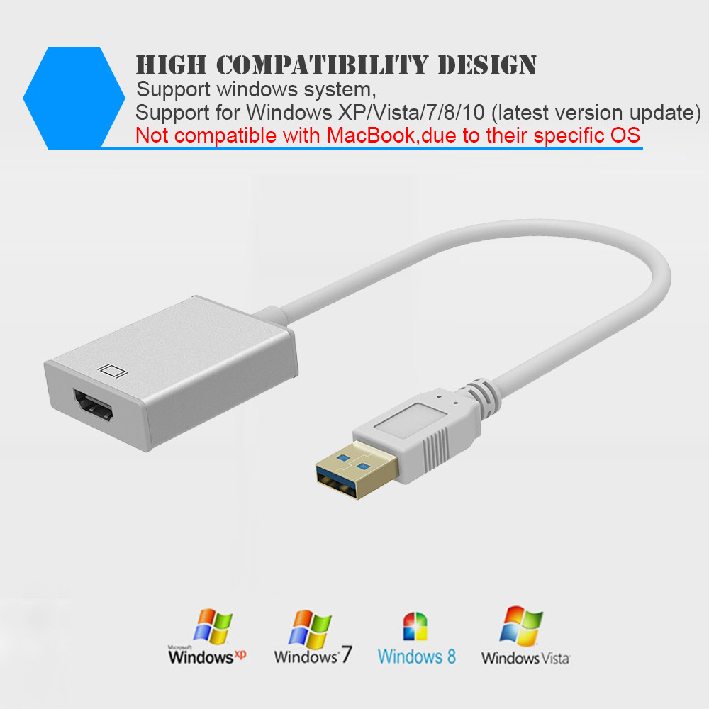 how to connect laptop to hdtv with usb