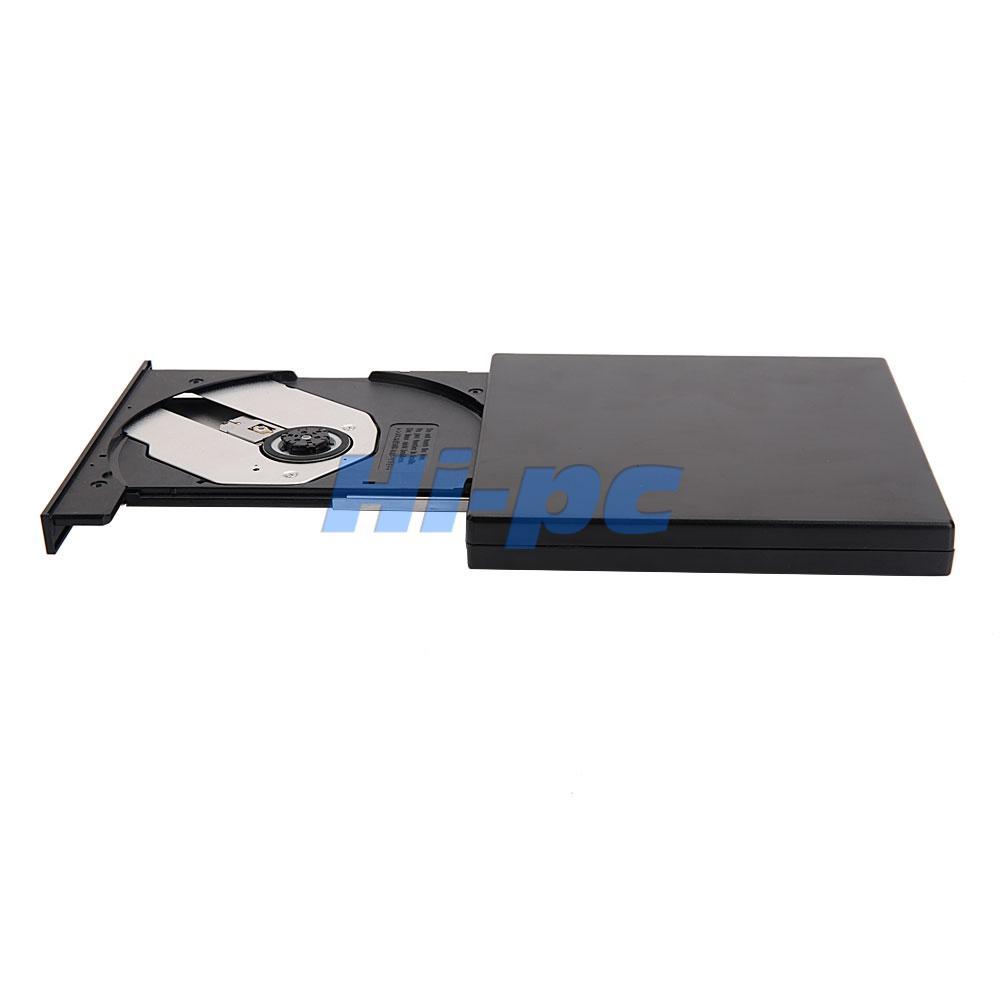 Black portable usb 2 0 combo external drive dvd cd rw cd - Mobile porta cd ...