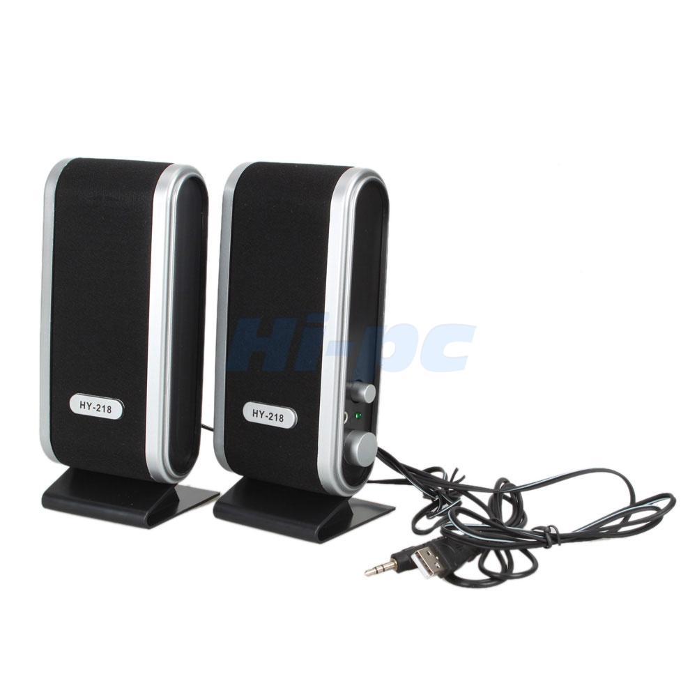 6w Usb Power 3 5mm Laptop Computer Pc Speakers W Ear Jack
