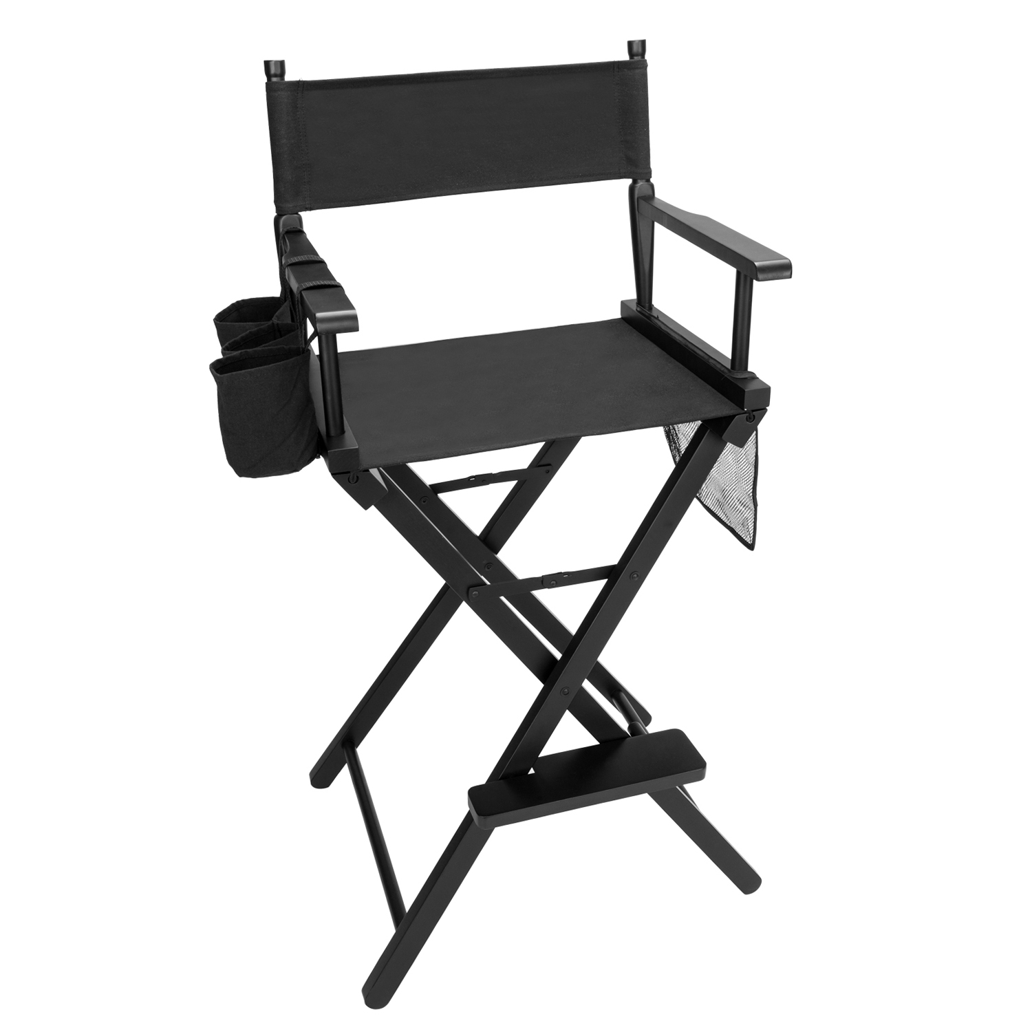 Professional Folding Wood Makeup Comestic Artist Director High Chair Stool Seat