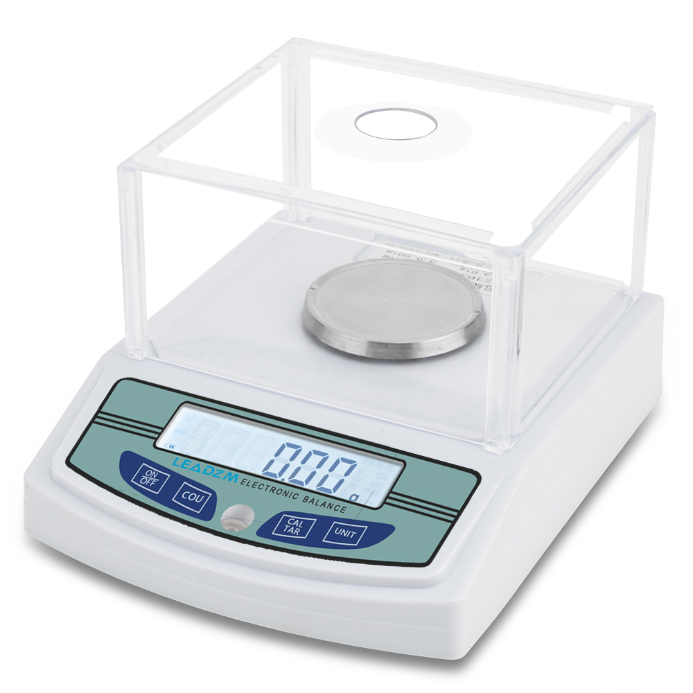 96cdd6667573 Details about 3000g x 0.01g Digital Lab Analytical Balance Scale Jewelry  Precision with Level