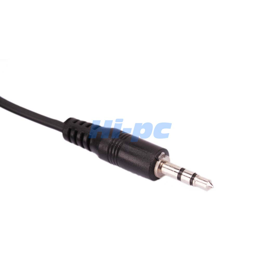 Stereo Speaker Cable Extensions : Pcs ft mm stereo male to female audio