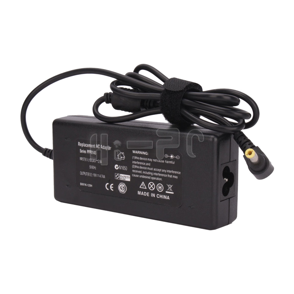 New 19v 4 74a 90w Ac Adapter Charger For Toshiba Laptop