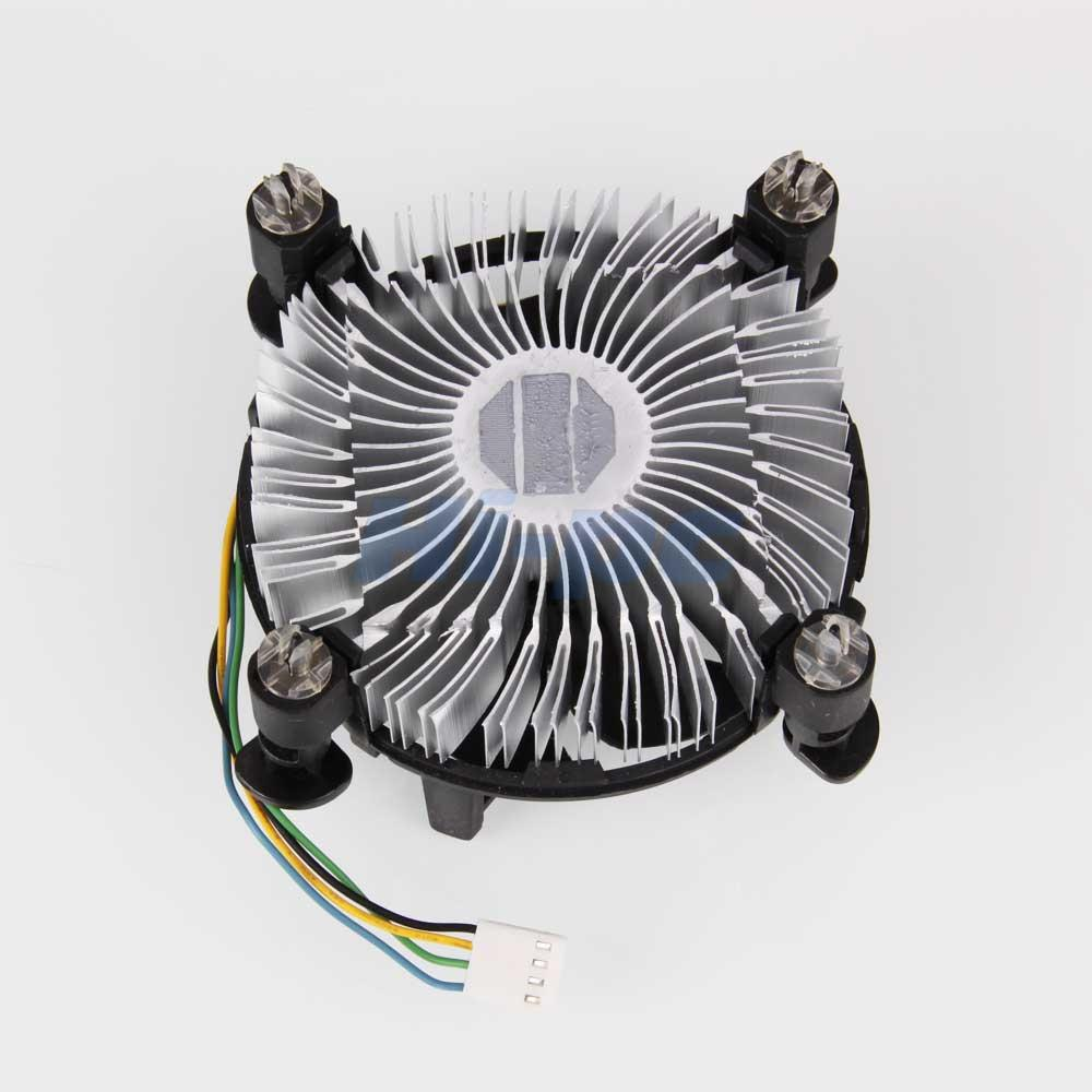 Processor Cooling Fan : Lot cpu heatsink fan cooler v pin for intel core