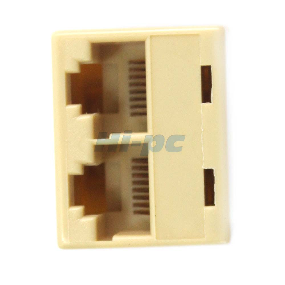 rj45 cat 5 6 lan ethernet splitter connector adapter pc ebay. Black Bedroom Furniture Sets. Home Design Ideas