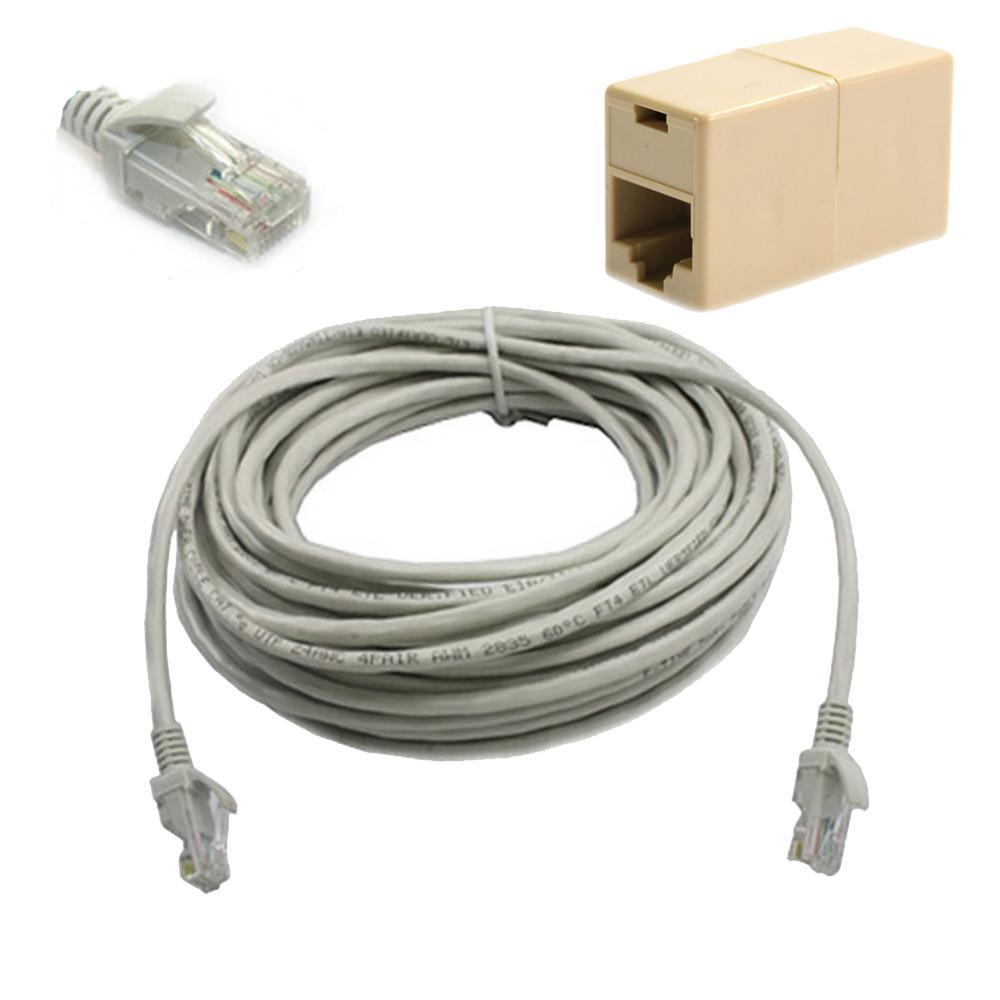 15m 50ft rj45 cat5 cat5e ethernet lan network cable plug - Cable ethernet categorie 7 ...